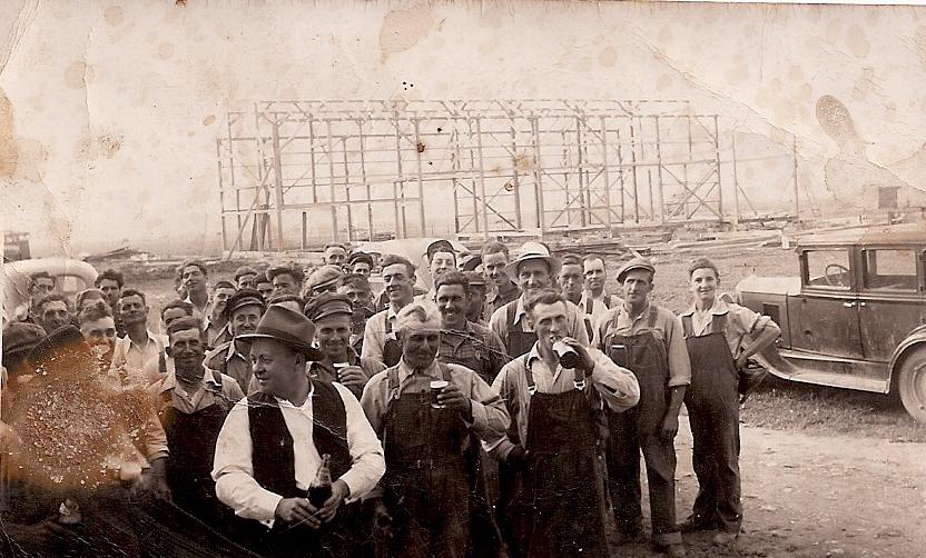 corvée de grange en 1947