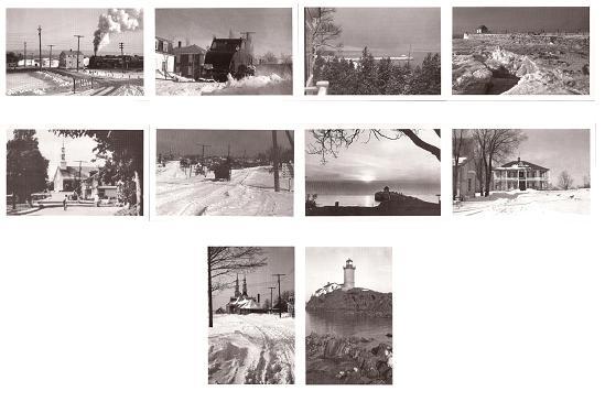 montage de cartes postales