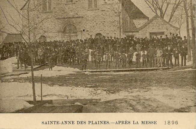 après la messe 1896