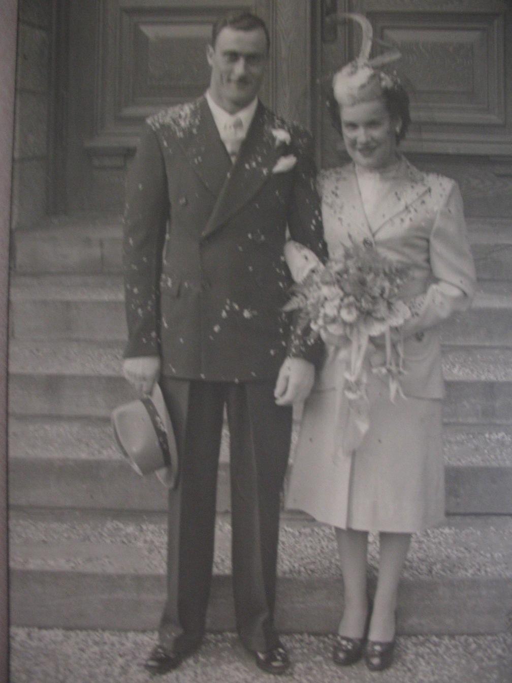 Jeannette et Maurice 1947