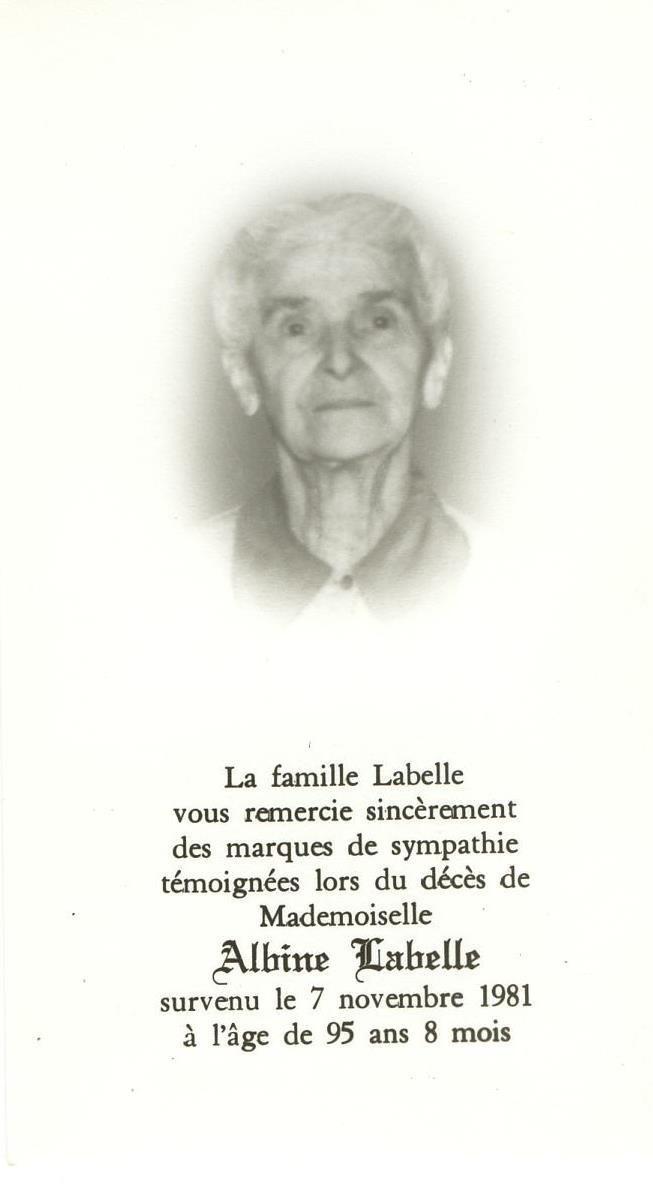 Albine Labelle
