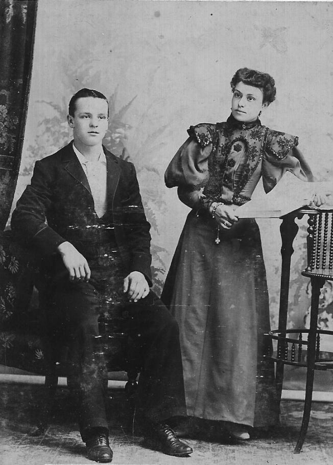 Joseph Eusèbe Quesnel et Albertine Bousquet