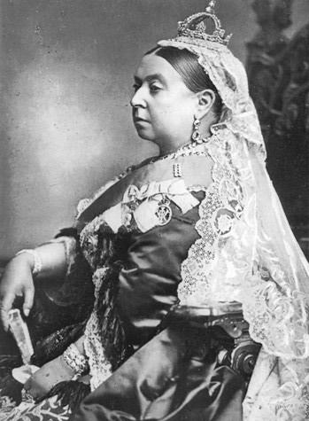 reine Victoria en 1887