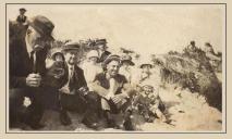 famille Lagasse sur la plage