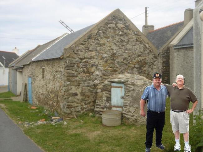 Ron et Pierre à Belle-Isle-en-Mer