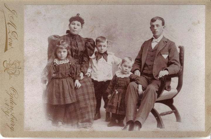 famille Cloutier 1897