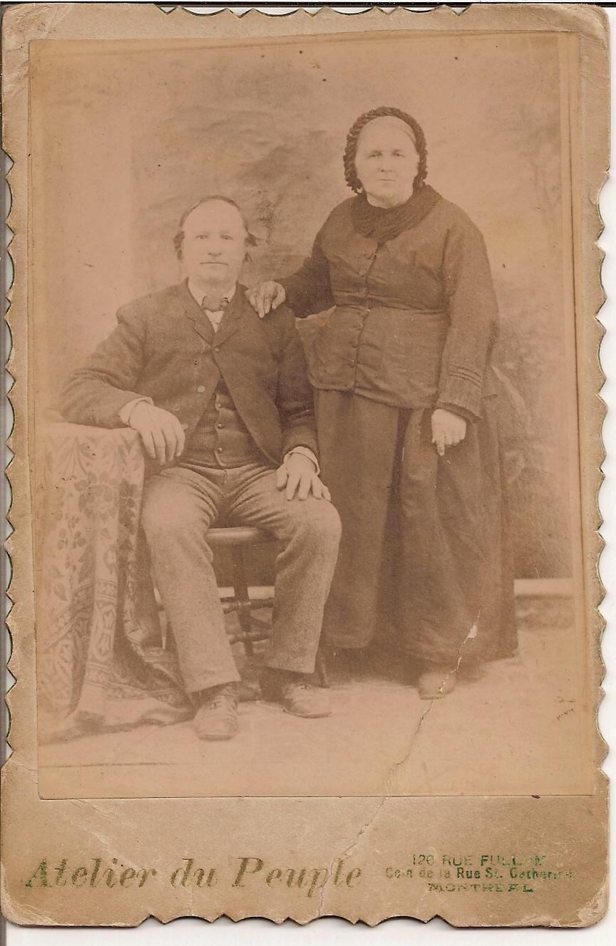 Honoré Sauvé et Julie Leroux