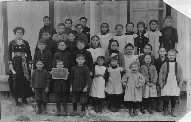 école de rang 1915 rang Ste-Julie de Ste-Marthe