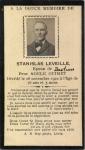 carte mortuaire Stanislas Léveillé_collection Marie-Paule Léveillé