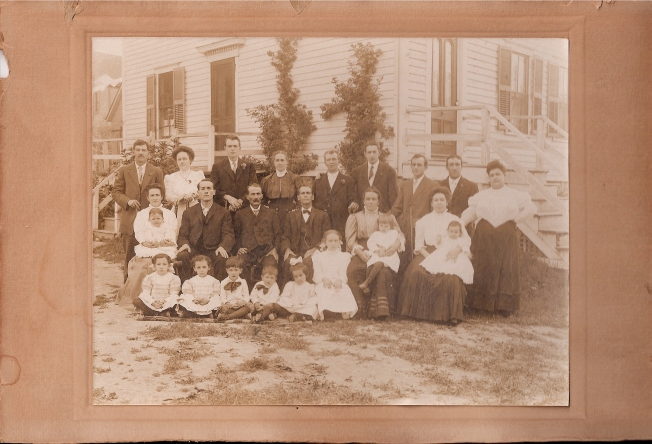 famille Hogue vers 1910
