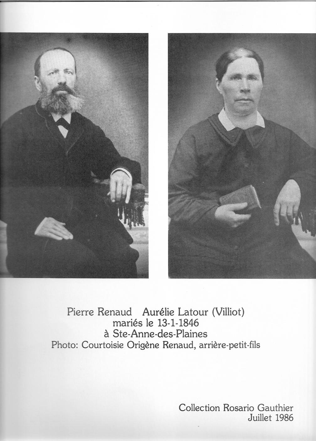 Pierre Renaud et Aurélie Latour
