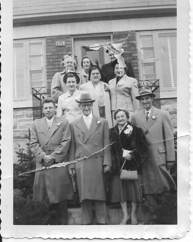 000 mariage d'Euclide Sauvé et Blanche Girard 1955
