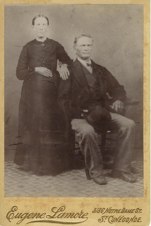 Jérémie Lauzon ,le grand et Angèle Barrette