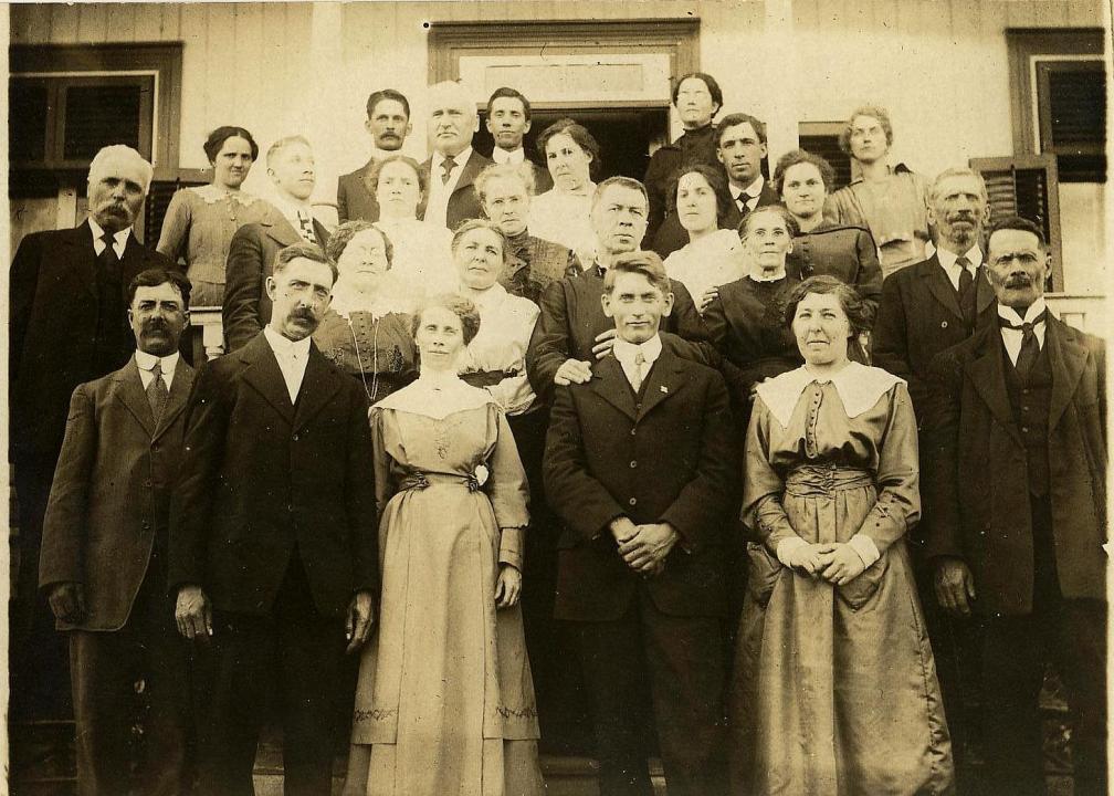 Mariage de Bernadette et de Henri Latour (1917)
