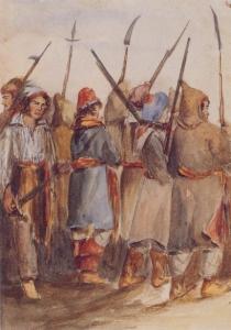 Patriotes à Beauharnois en novembre 1838