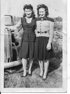 Aline et Claire filles d'Euclide