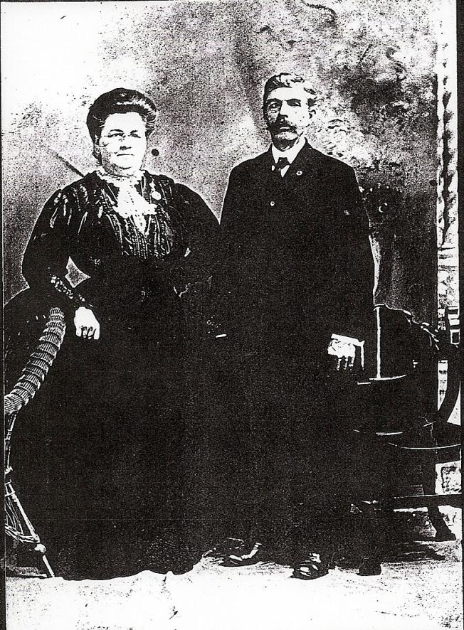 Appolline Poissant et Georges Landry