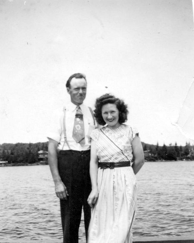 Frank Farmer et Claire Sauvé