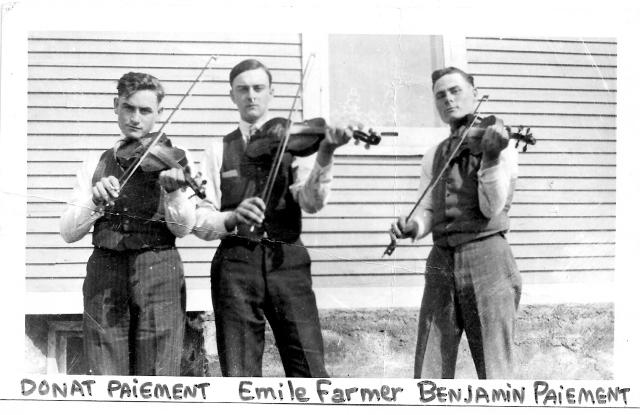 joueurs de violon