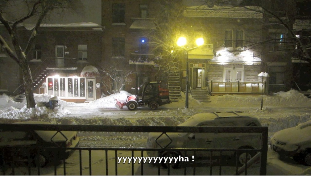 déneigement à Montréal