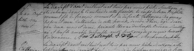 1803 décès Jean-Baptiste Menuet 16 août 1803 zoom