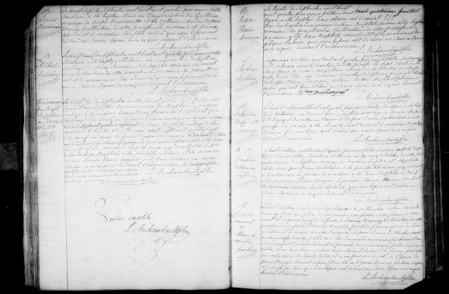 8 octobre 1804 mariage François Menuet