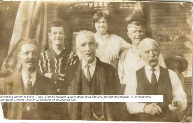 famille Métayer circa 1912