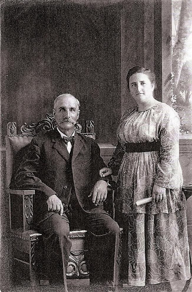 Louis Landry et Alexina Grenier