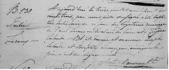 1823 Julie Leroux