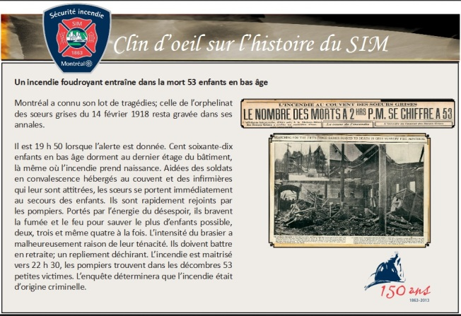 1918 incendie orphelinat