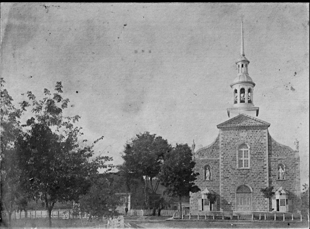 église de St-Norbert face