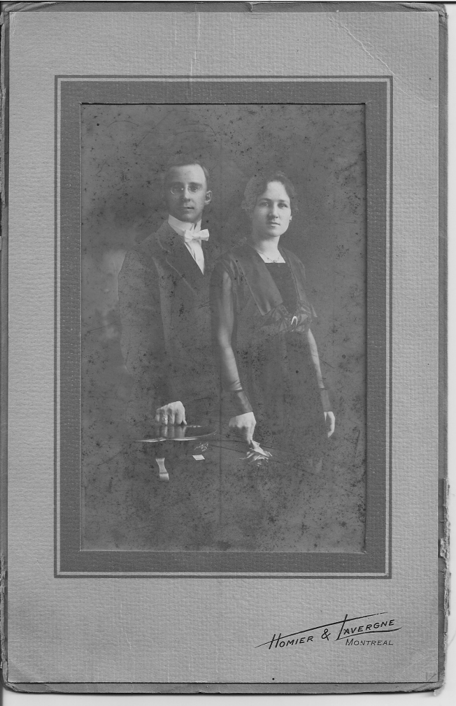 Horace Leclerc et Alma Sauvé