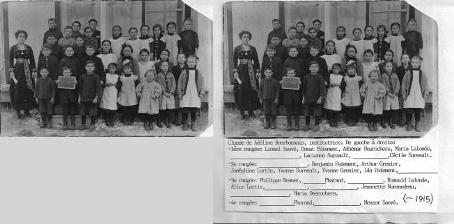 identification des enfants par Yvon