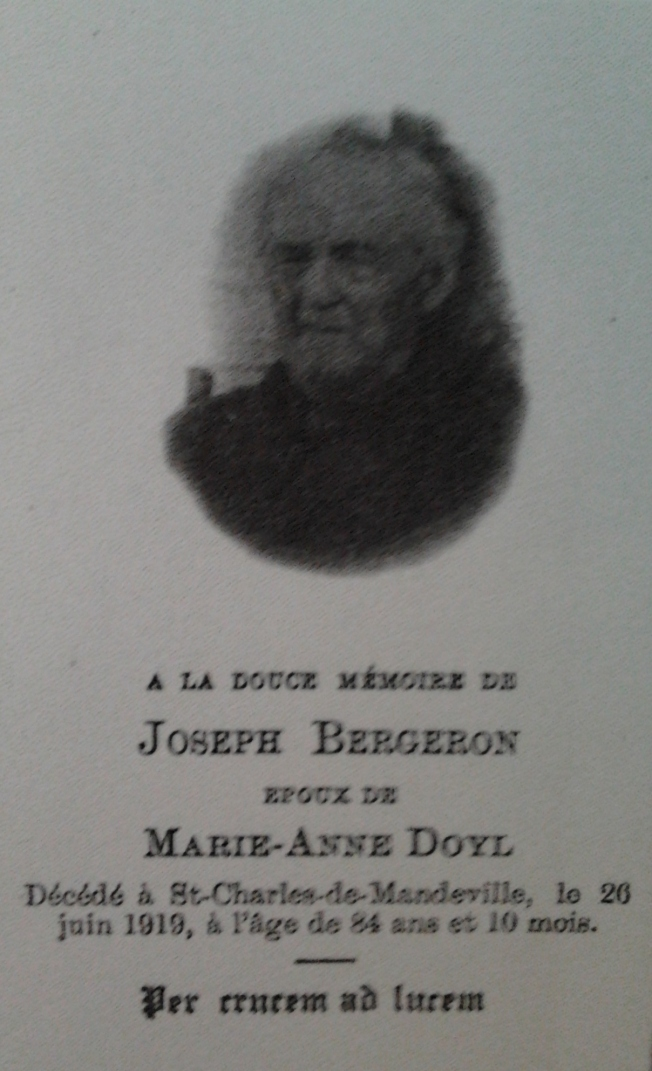 Joseph Bergeron