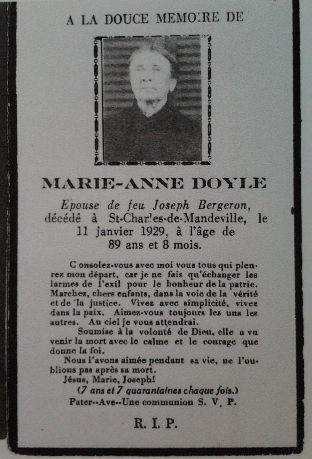 Marie-Anne Doyle