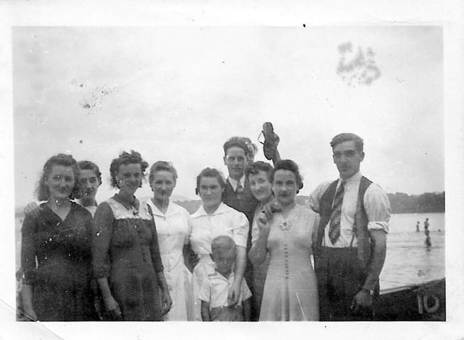 plage d'Hudson vers 1942