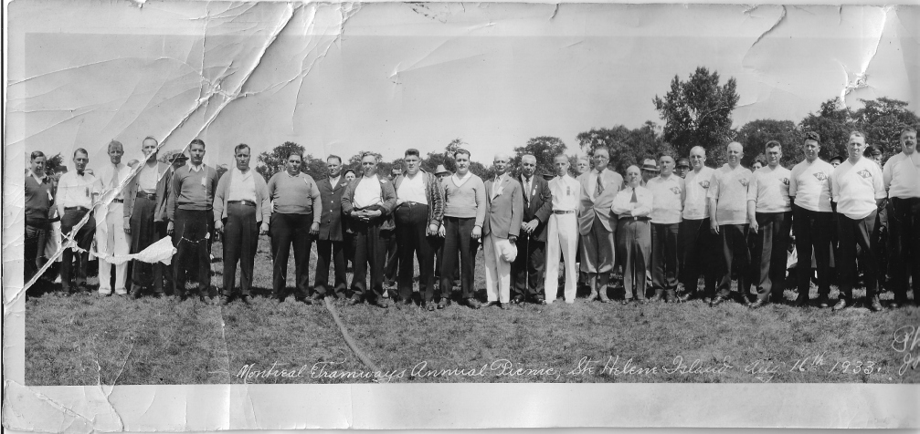 Aldéma Sauvé pique-nique 1933