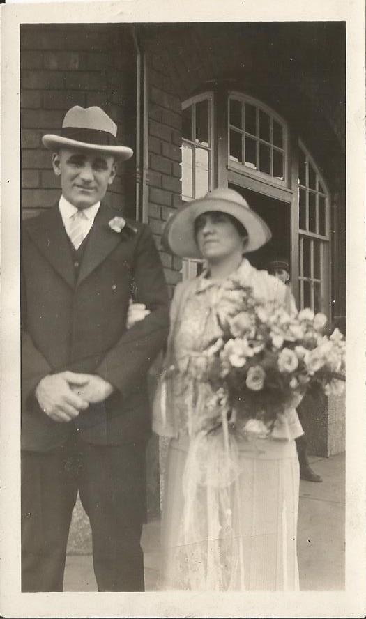 mariage Aldama Sauvé et Dolorès Riopel