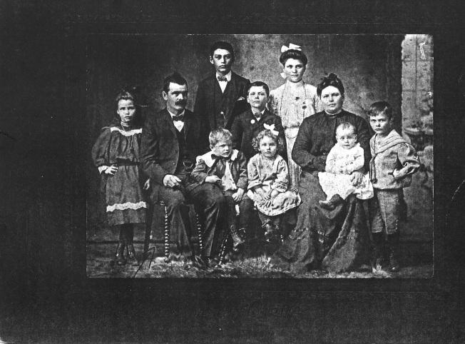 famille Ludger Mireault