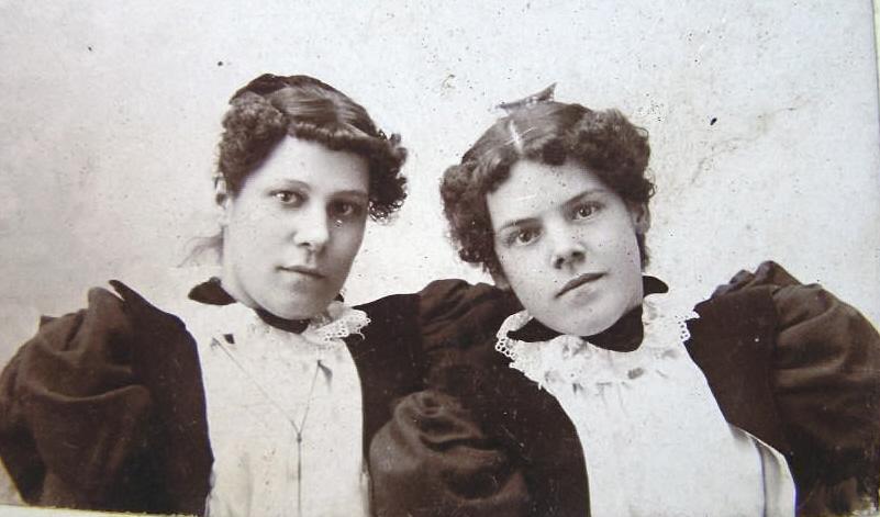 Late 1890's sisters Bristol, Conn.