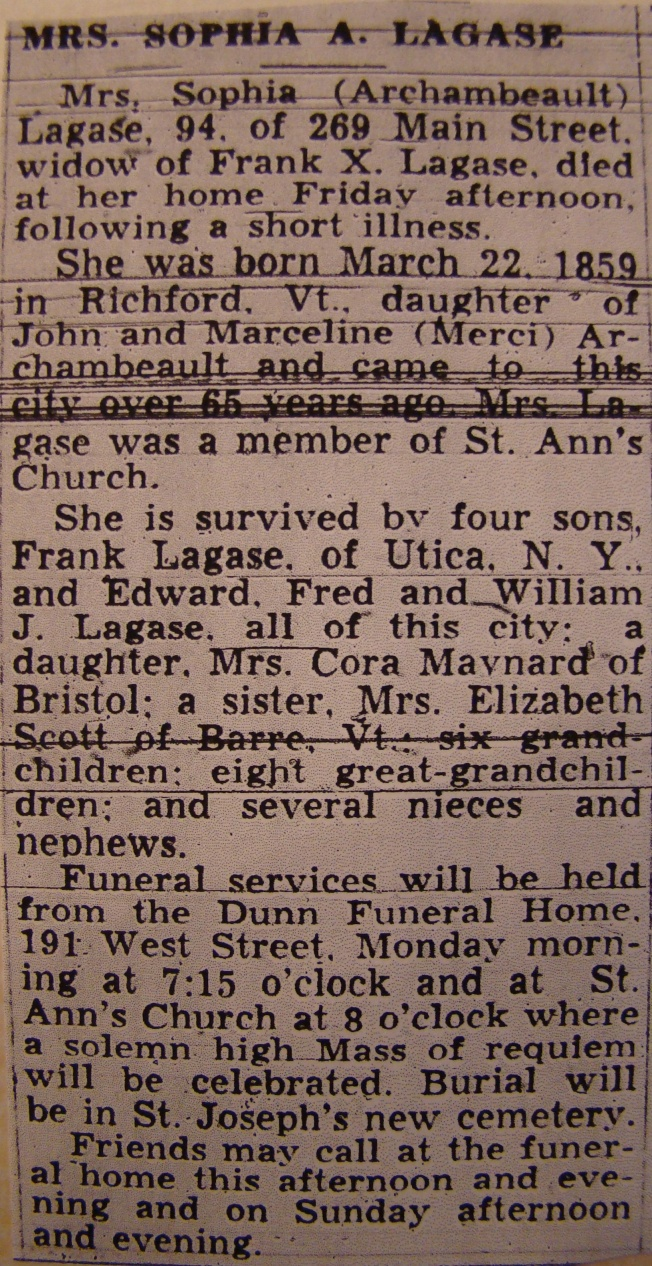 Sophie Archambealt death