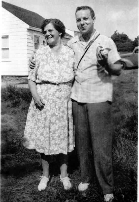 My Dad Philip and Grandma Myra Archambeault