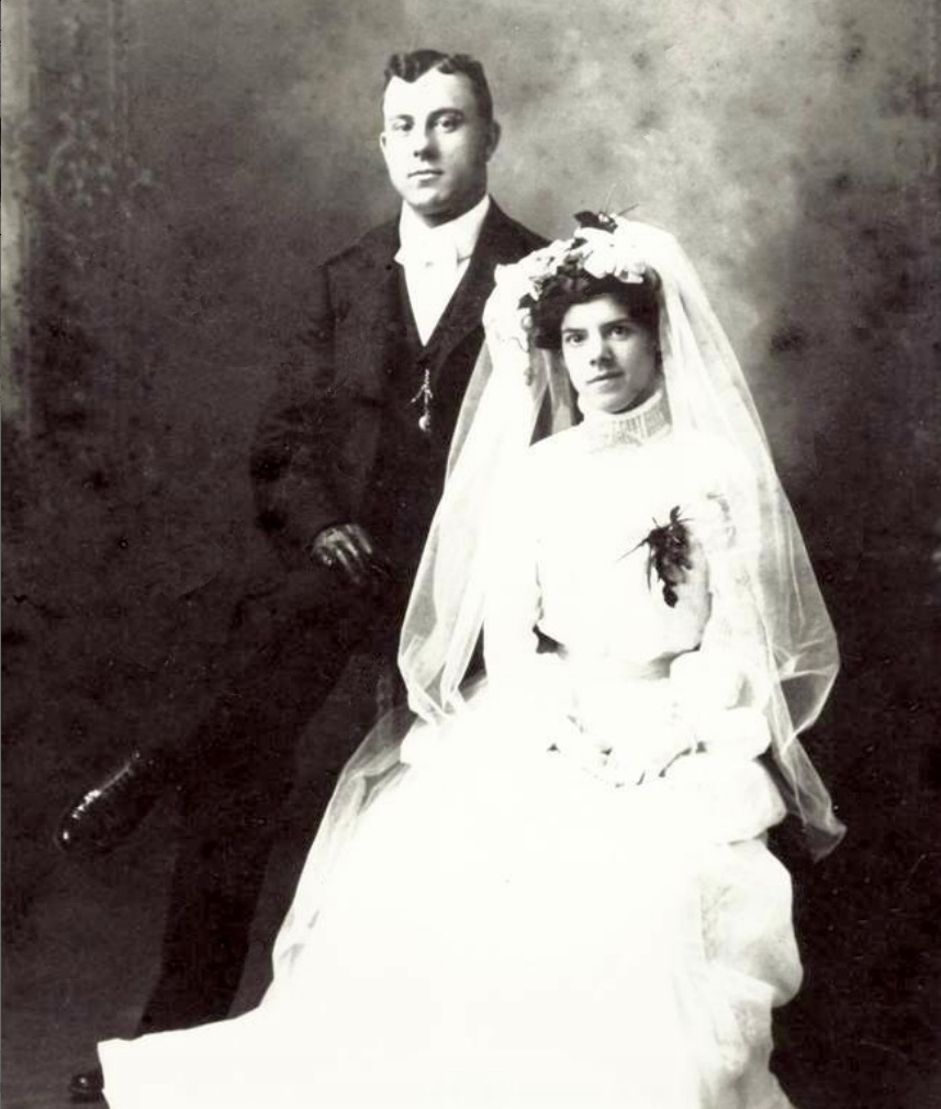 Myra Alexandre and William Archambeault