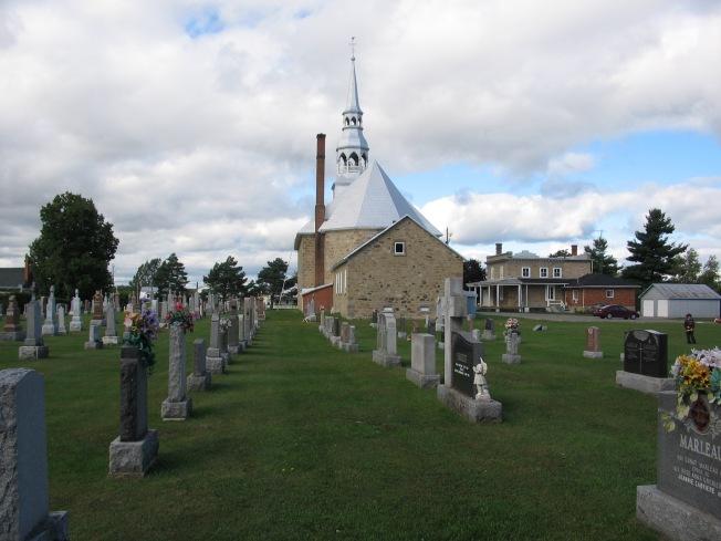 cimetière de Ste-Justine-de-Newton