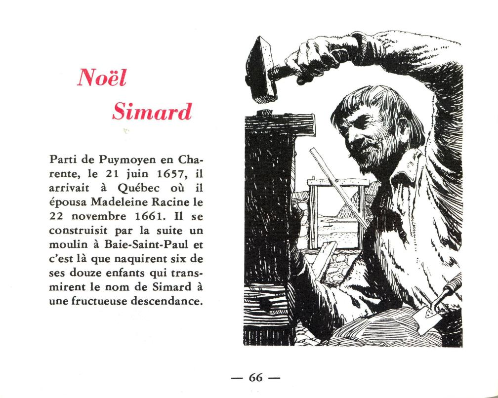 Livret Labatt Noël Simard