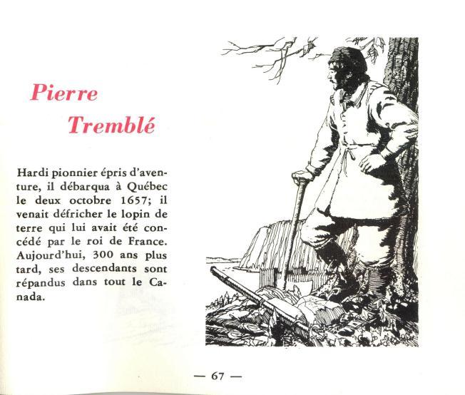 Livret Labatt Pierre Tremblé