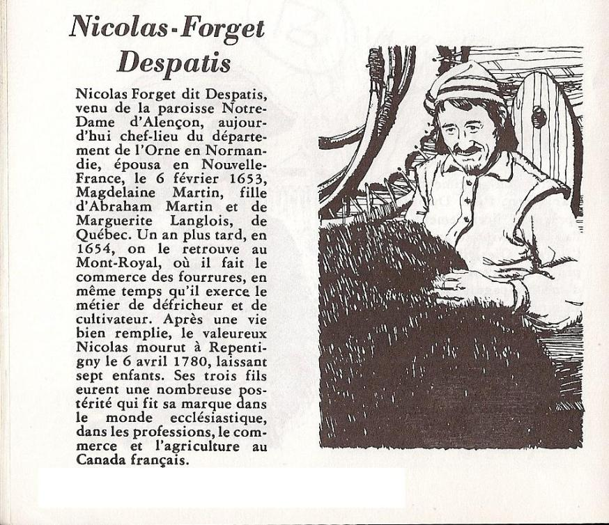 Nicolas Forget Despatis