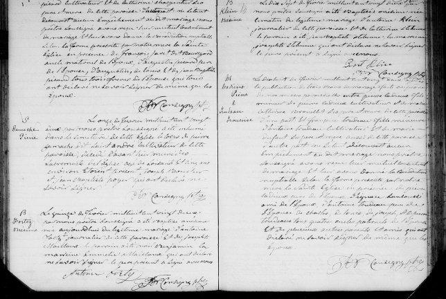 1822 Pierre Cadieux Françoise Trudeau 18 février