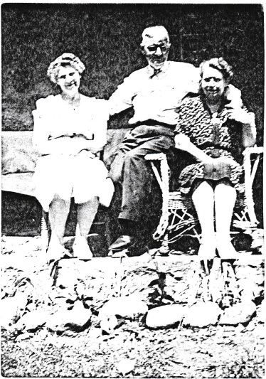 Cora Lagasse Ernie Maynard and wife Amy Gibson