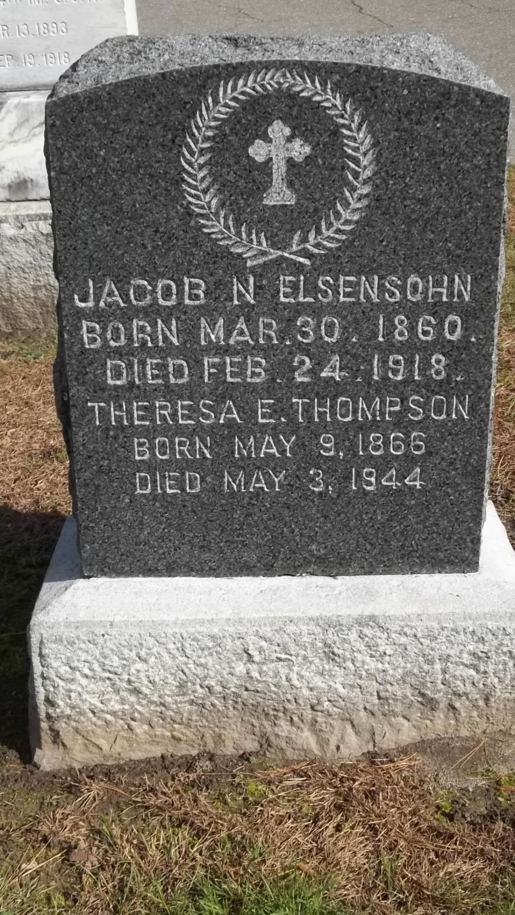 Jacob N Elsensohn